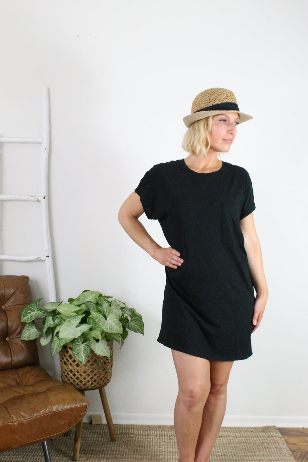 Pia Slub Dress
