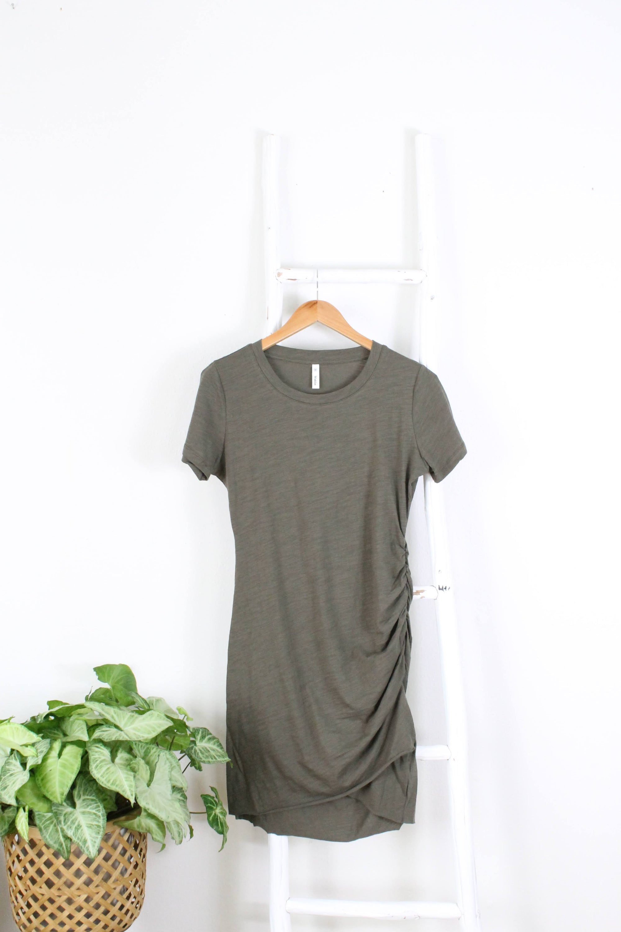 TShirt Rouched Dress