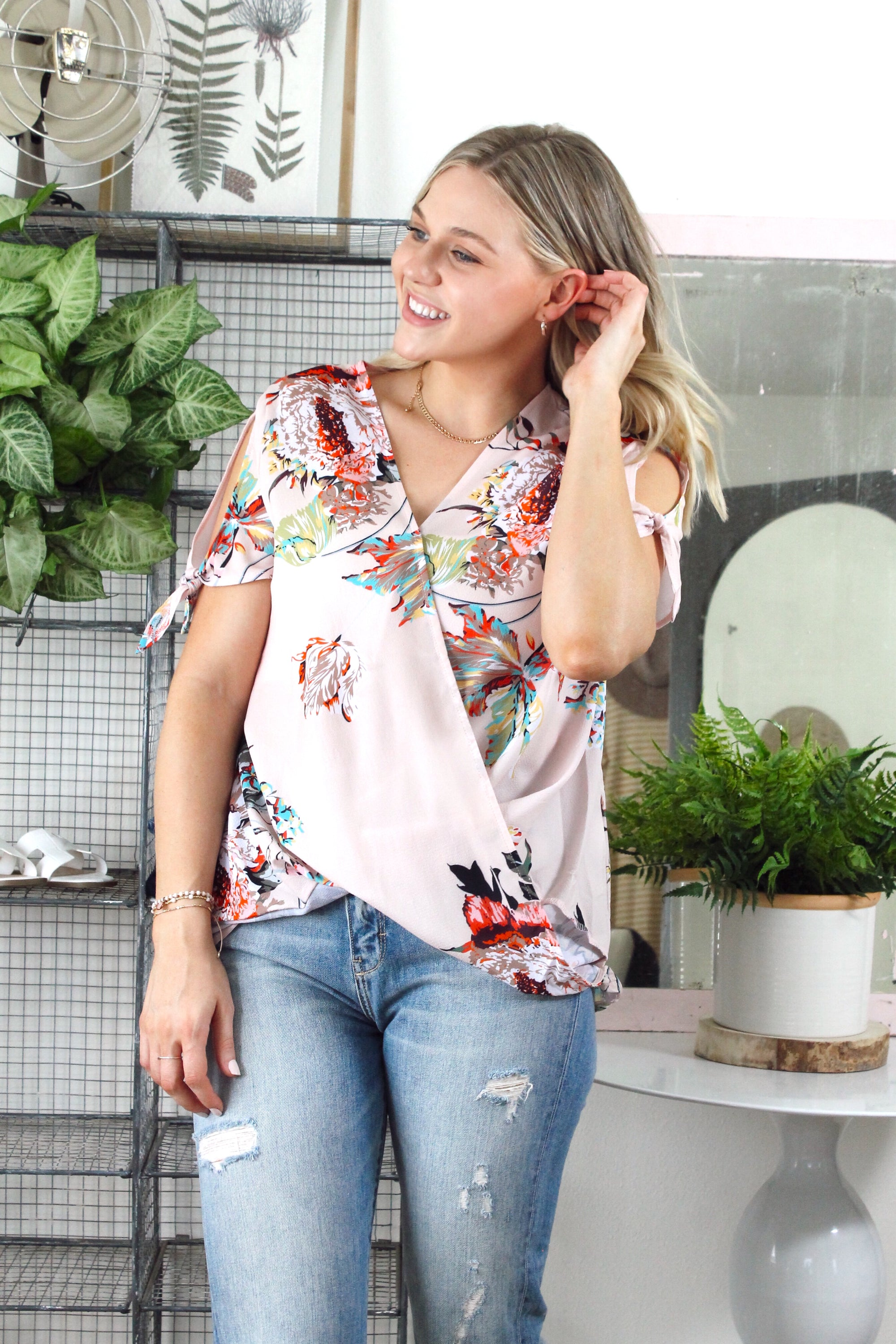 In Bloom Floral Blouse