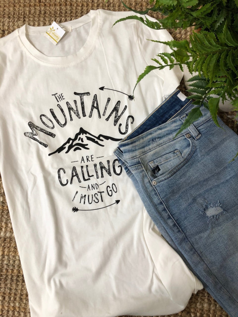 The Mountains are Calling...Graphic Tee