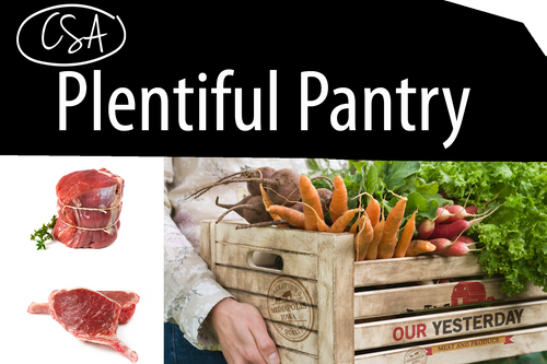 Plentiful Pantry (CSA monthly payment)