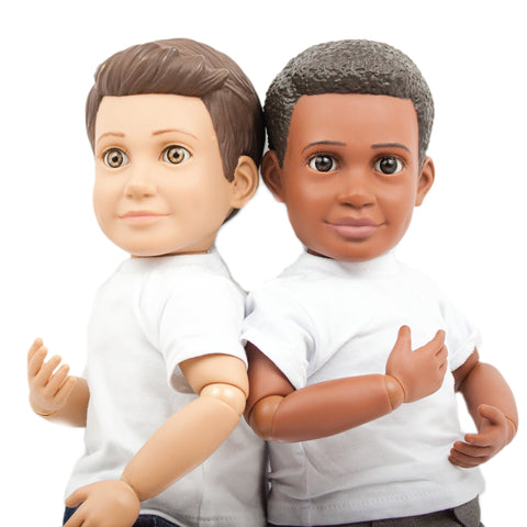 Boy Story's first Action Dolls, Mason and Billy, have hit the shelves. MSRP $99.