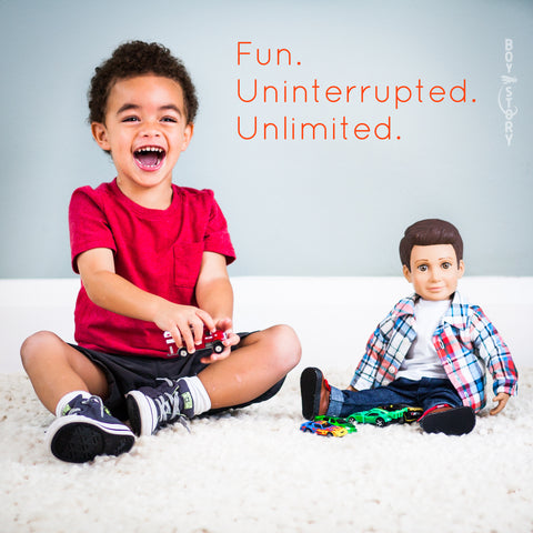 Equality Campaign: Fun. Uninterrupted. Unlimited.