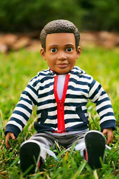 "Billy Action Doll, 18"" boy doll, a doll for boys and for girls"