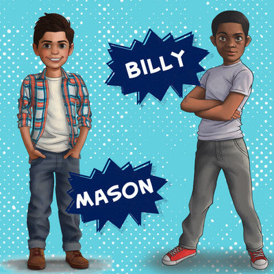 Billy and Mason are amazing new adventurers!