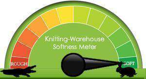 Yarn By Softness - The Knitting-Warehouse Softness Meter