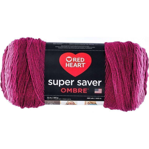 Red Heart Yarn Over 60 Lines | Reduced Prices | Knitting