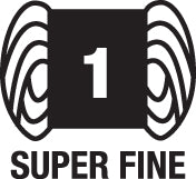 1-super-fine weight