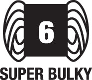 6-super bulky weight