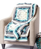 Bernat Blanket Country Snow Window Afghan