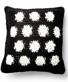 Bernat Blanket Crochet Polka Time Pillow