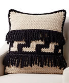 Bernat Blanket Graphic Step Crochet Pillow