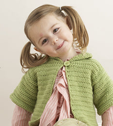 Short And Sweet Childs Cardigan