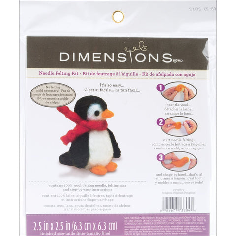 Feltworks Needle Felting Kit Penguin