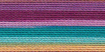 Lizbeth Cordonnet Crochet Thread Ocean Sunset Size 3