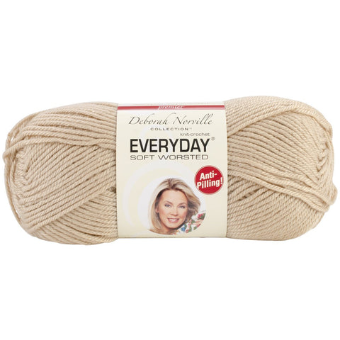 Everyday® Soft Worsted Yarn Cappuccino