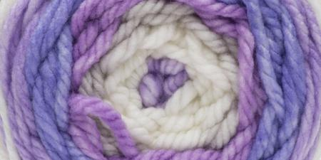 Bernat® Pop! Bulky Yarn Poppy Purple