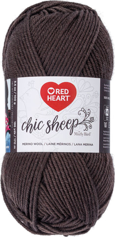 Red Heart Chic Sheep Yarn Leather