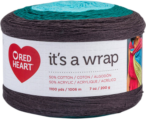 Red Heart It's A Wrap Yarn Action