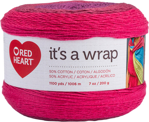 Red Heart It's A Wrap Yarn Romance