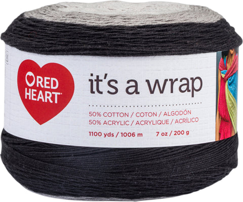 Red Heart It's A Wrap Yarn Thriller