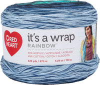 Red Heart® It's A Wrap Rainbow Yarn Nautical