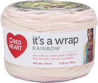 Red Heart® It's A Wrap Rainbow Yarn Whisper