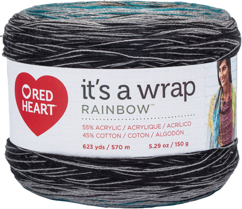 Red Heart® It's A Wrap Rainbow Yarn Couture