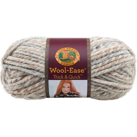Lion Brand® Wool-Ease® Thick & Quick® Yarn Fossil