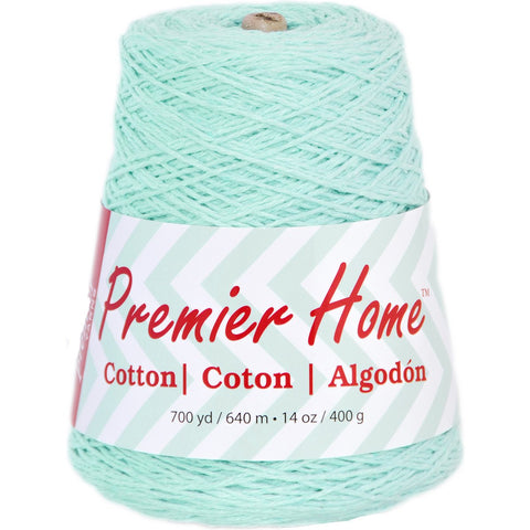 Premier® Home Cotton Yarn Solid Cone Pastel Blue