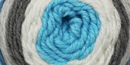 Bernat Pop! Yarn Blue Streak