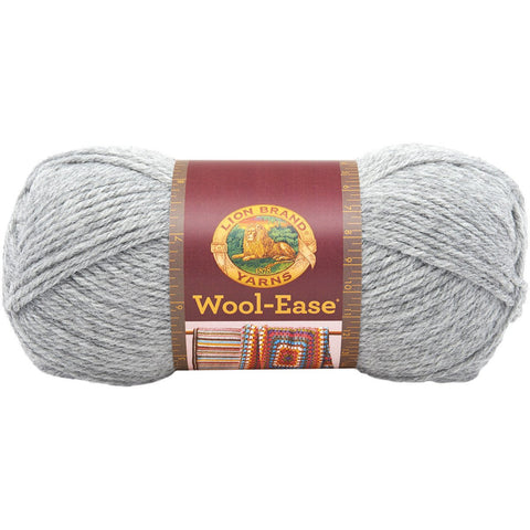 Lion Brand® Wool-Ease® Yarn Grey Heather