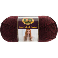 Lion Brand® Pound Of Love® Baby Yarn Claret