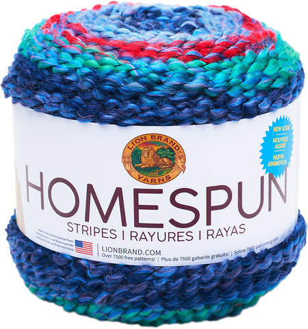 Lion Brand Homespun New Look Yarn Fireworks