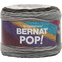 Bernat Pop Yarn Ebony And Ivory