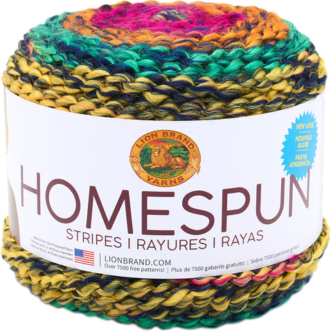 Lion Brand Homespun New Look Yarn Cinco De Mayo