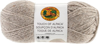 Lion Brand Touch Of Alpaca Yarn Taupe