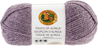 Lion Brand Touch Of Alpaca Yarn Purple Aster