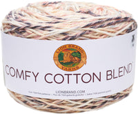 Lion Brand Comfy Cotton Blend Yarn Chai Latte