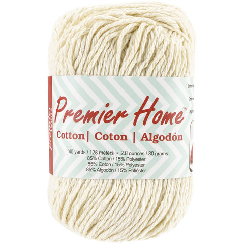 Premier® Home Cotton Yarn Solid Cream