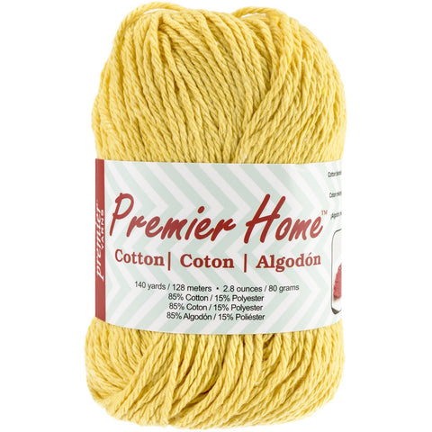 Premier® Home Cotton Yarn Solid Yellow