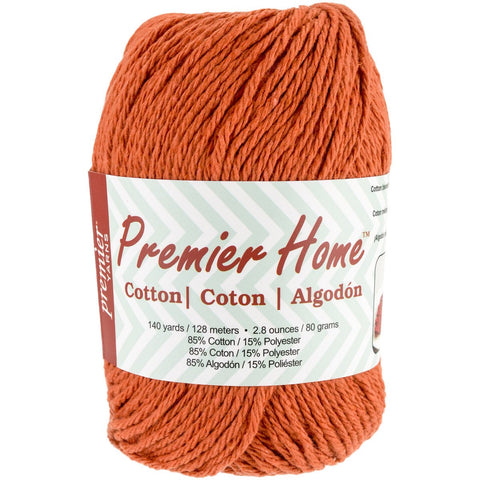 Premier® Home Cotton Yarn Solid Orange