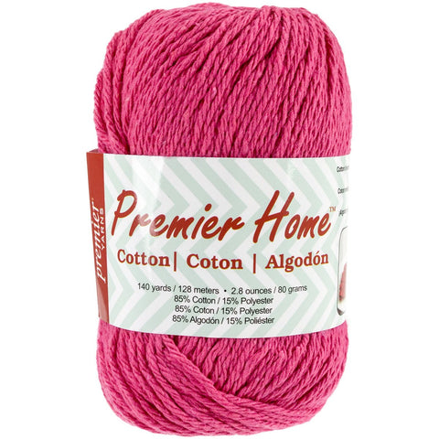 Premier® Home Cotton Yarn Solid Fuchsia
