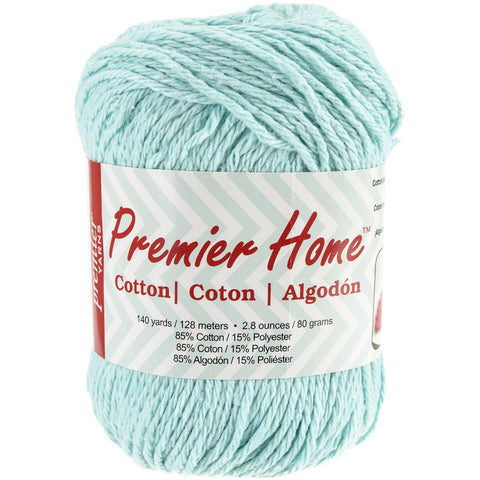 Premier® Home Cotton Yarn Solid Pastel Blue