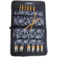 SPIN Bamboo Interchangeable Knitting Needle 5in Tip Set Complete