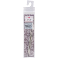 ChiaoGoo TWIST Red Lace Interchangeable Tips 4in Size 6 4mm