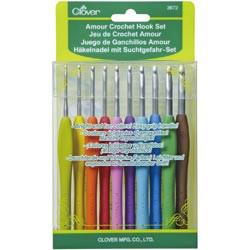 Amour Crochet Hook Set 10 Hooks