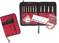 T-SPIN Interchangeable Tunisian Crochet Hook Set Hooks From E4-N15