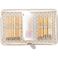 Carry C Interchangeable Bamboo Knitting Needle Long Set