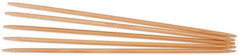 Double Point Dark Patina Knitting Needles 8in Size 8 5mm 5pk